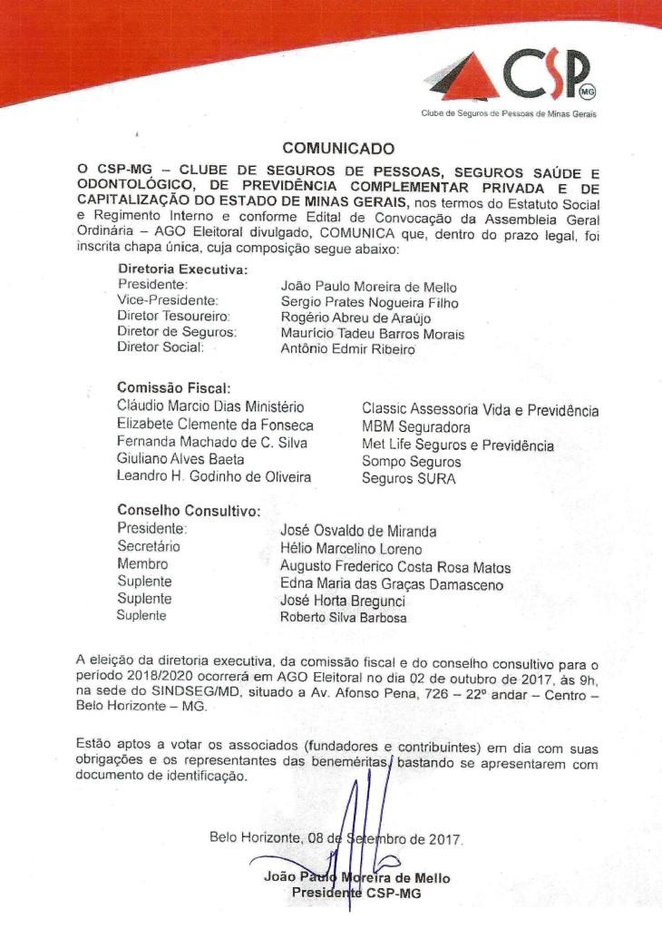 Comunicado AGO Eleitoral 08092017 001