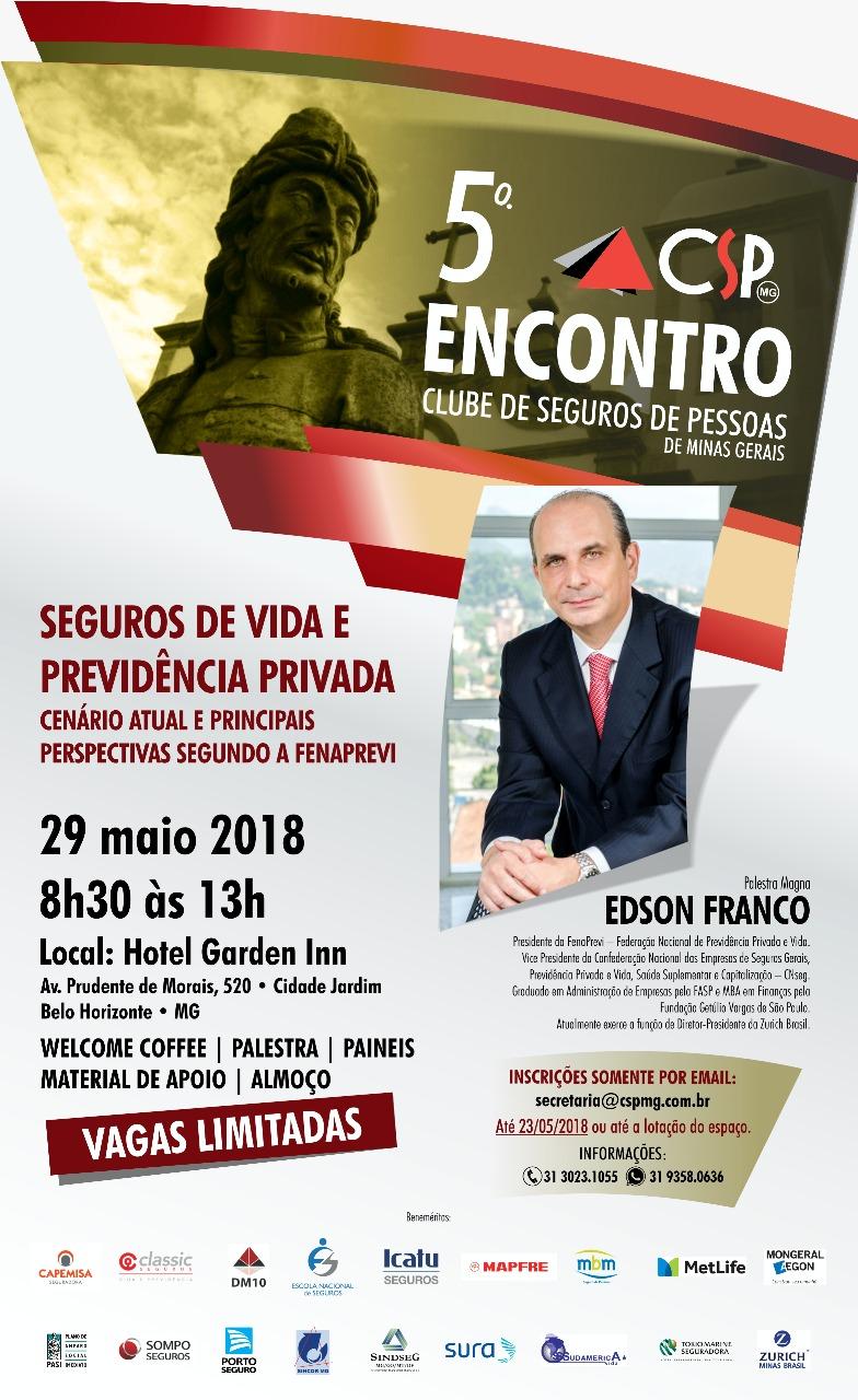 Convite 5º Encontro do CSP-MG site email mkt