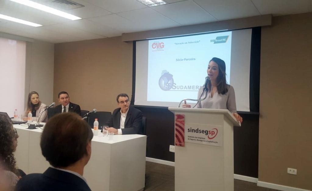 Alessandra Monteiro, diretora do IRB Brasil Re, fala das novas técnicas de subscrição