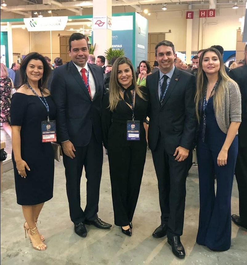 Juliana Queiroz, Antônio Edmir, Fernanda Machado, Sergio Prates e Fabiana Resende