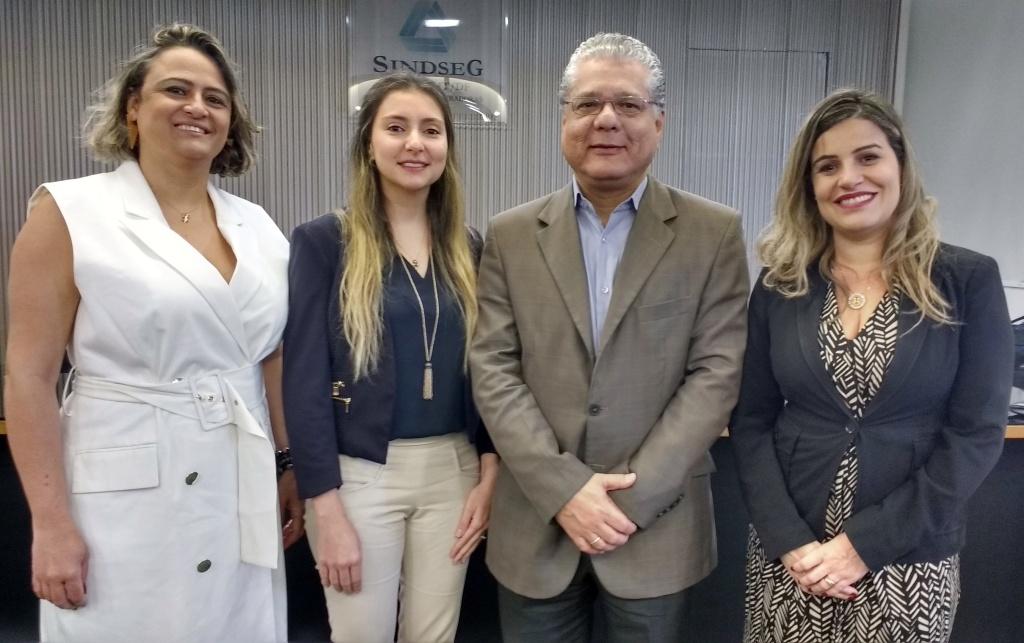 Denize Pena, Fabiana Resende, João Paulo Mello e Fernanda Machado