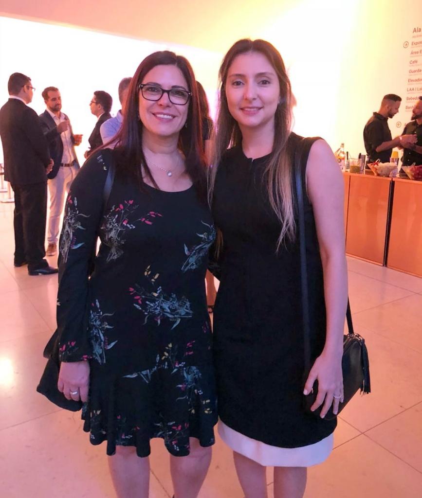 Fabiana Resende e Sonia Marra (diretora CVG-RJ)