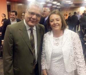 João Paulo Mello e Maria Filomena