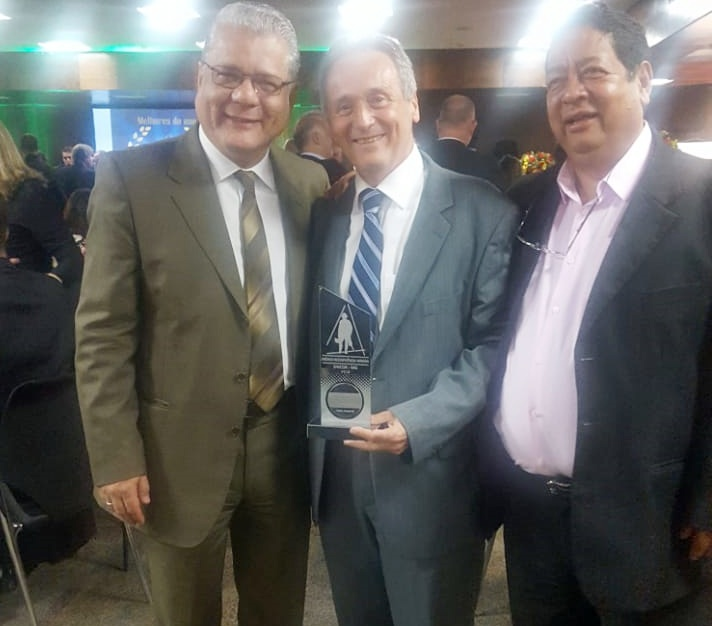 João Paulo, Sérgio Canesso e Adelson Cunha