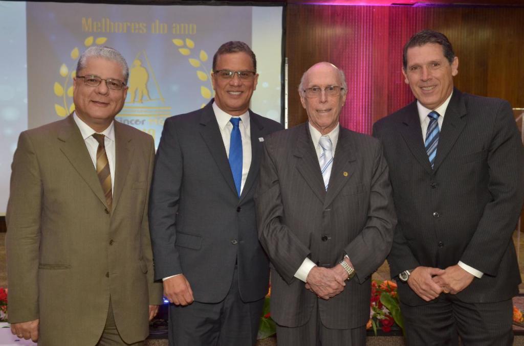 João Paulo, Augusto Matos, Roberto Barbosa e Eduardo Veras