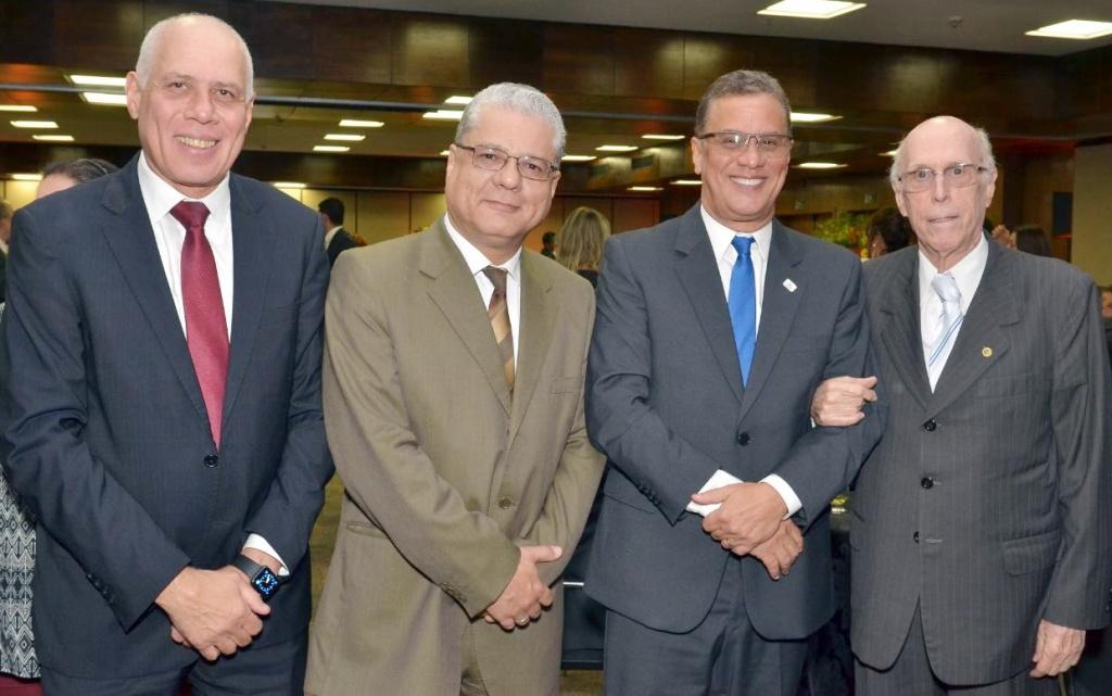 Tadeu Machado, João Paulo, Augusto Matos e Roberto Barbosa