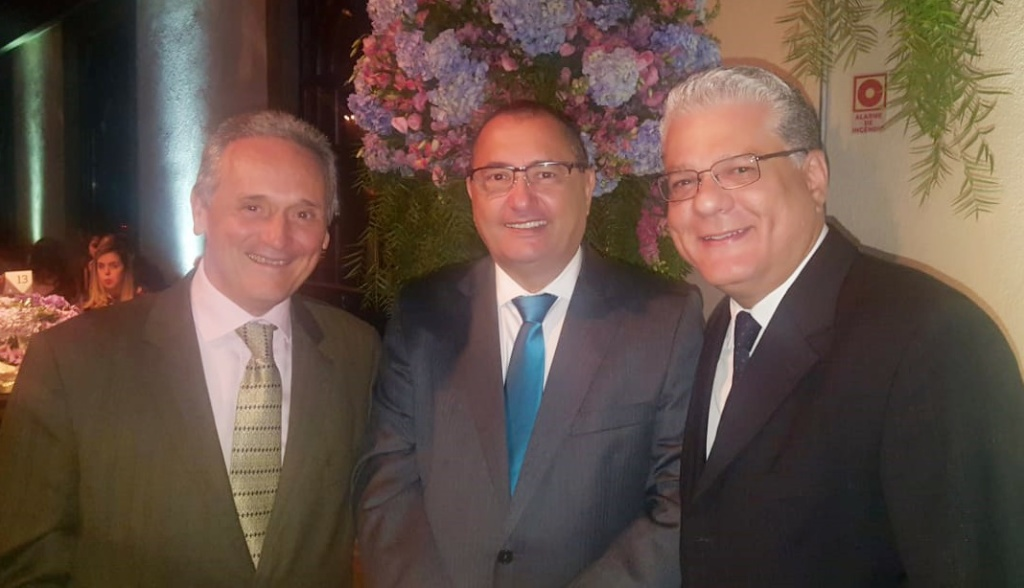 Sérgio Canesso (assessor da diretoria do CSP-MG) e Edilon Mesquita (superintendente da Bradesco Seguros)