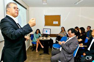 """25/04/2019 – I Workshop da série """"Conhecer para Proteger"""", realizado pelo Clube de Seguros de Pessoas de Minas Gerais, na Escola Nacional de Seguros, em Belo Horizonte."""